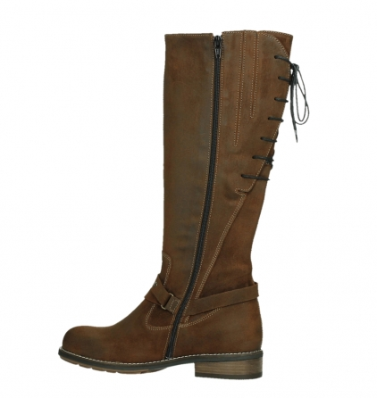 wolky long boots 04433 belmore 45410 tobacco suede_14