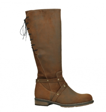wolky long boots 04433 belmore 45410 tobacco suede_2
