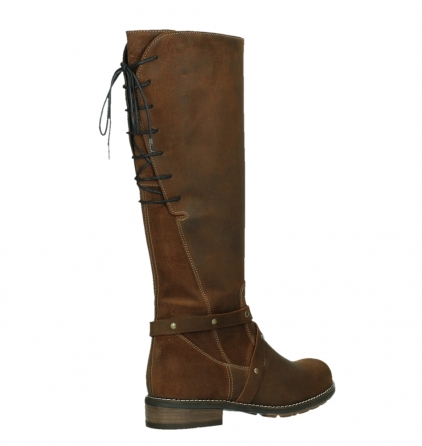 wolky long boots 04433 belmore 45410 tobacco suede_22