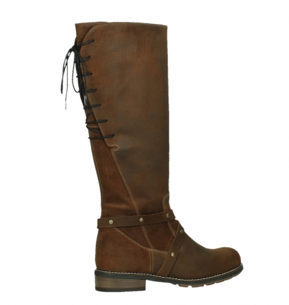 wolky long boots 04433 belmore 45410 tobacco suede_23