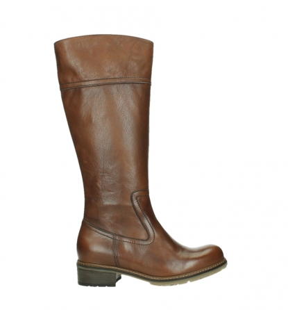 wolky hohe stiefel 04477 moher 32430 cognac leder_1