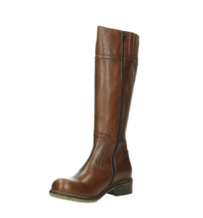 wolky high boots 04477 moher 32430 cognac leather_10