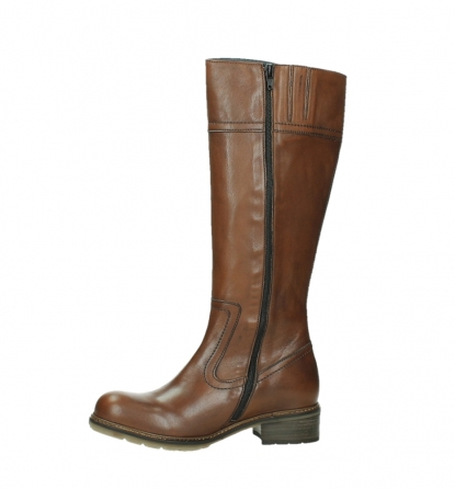 wolky long boots 04477 moher 32430 cognac leather_12