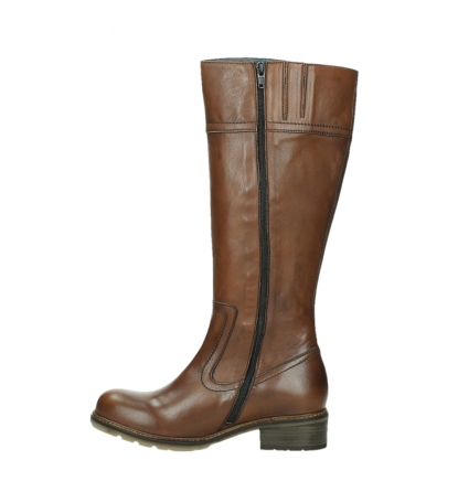 wolky long boots 04477 moher 32430 cognac leather_13