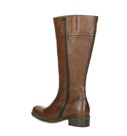 wolky long boots 04477 moher 32430 cognac leather_15