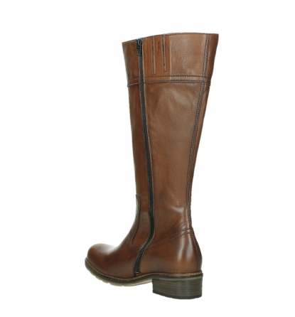 wolky long boots 04477 moher 32430 cognac leather_16