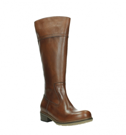 wolky long boots 04477 moher 32430 cognac leather_4