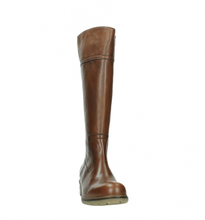 wolky long boots 04477 moher 32430 cognac leather_6