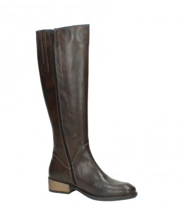 wolky long boots 04513 earl 30430 cognac snakeprint leather_15