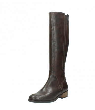 wolky long boots 04513 earl 30430 cognac snakeprint leather_22