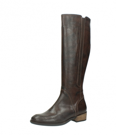 wolky high boots 04513 earl 30430 cognac snakeprint leather_23