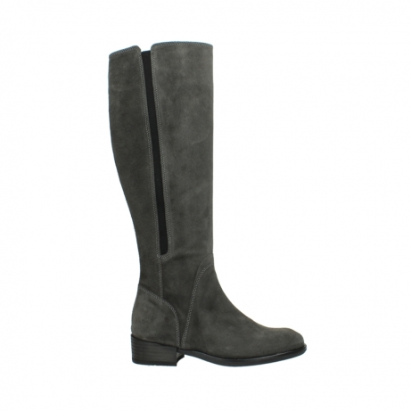 wolky high boots 04513 earl 40210 anthracite suede