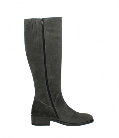 wolky high boots 04513 earl 40210 anthracite suede_13