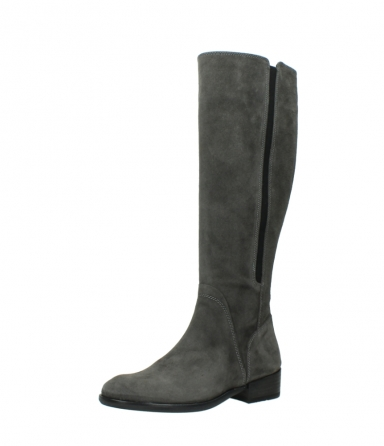 wolky high boots 04513 earl 40210 anthracite suede_23