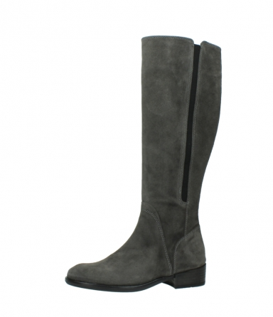 wolky high boots 04513 earl 40210 anthracite suede_24