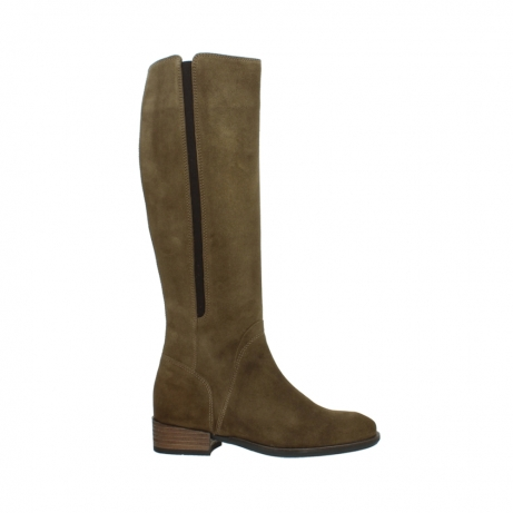 wolky high boots 04516 earl xl 40310 mid brown oiled suede