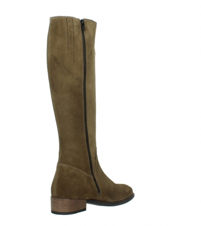wolky high boots 04516 earl xl 40310 mid brown oiled suede_10