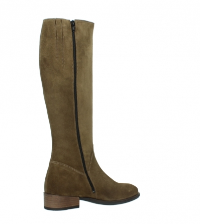 wolky high boots 04516 earl xl 40310 mid brown oiled suede_11
