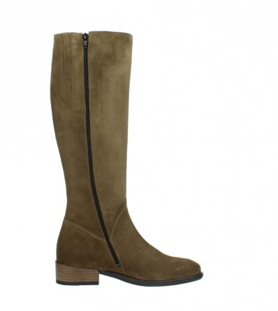 wolky high boots 04516 earl xl 40310 mid brown oiled suede_13