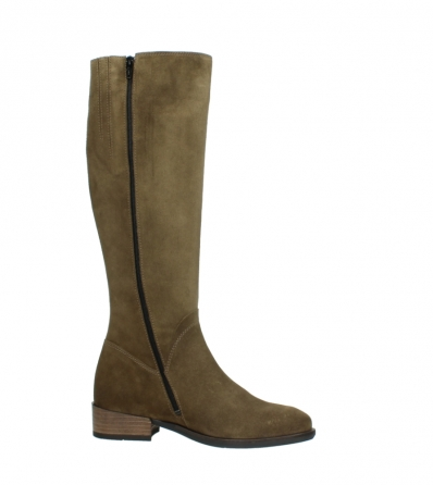 wolky high boots 04516 earl xl 40310 mid brown oiled suede_14