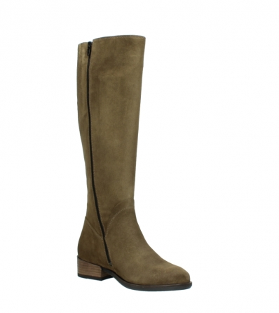 wolky high boots 04516 earl xl 40310 mid brown oiled suede_16