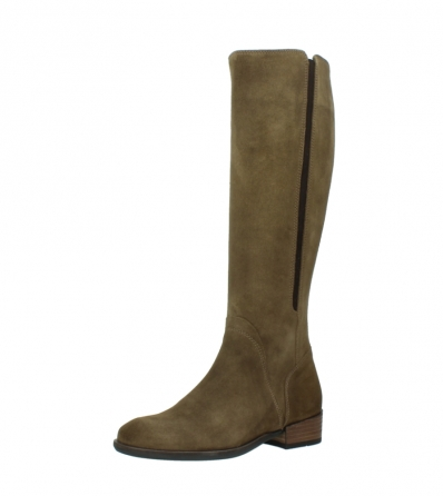 wolky high boots 04516 earl xl 40310 mid brown oiled suede_23