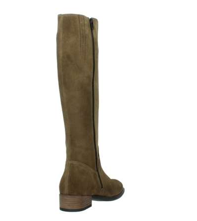 wolky high boots 04516 earl xl 40310 mid brown oiled suede_9