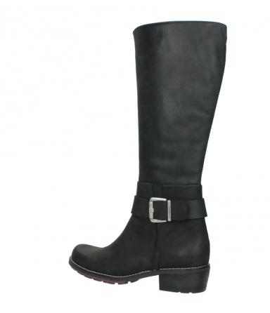 wolky lange laarzen 0527 aras 100 zwart nubuck_3
