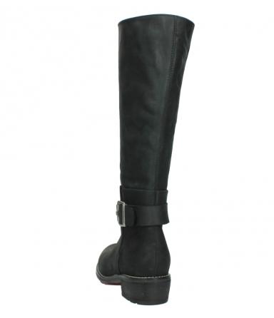 wolky lange laarzen 0527 aras 100 zwart nubuck_6