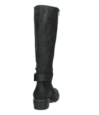 wolky lange laarzen 0527 aras 100 zwart nubuck_8