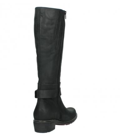 wolky lange laarzen 0527 aras 100 zwart nubuck_9