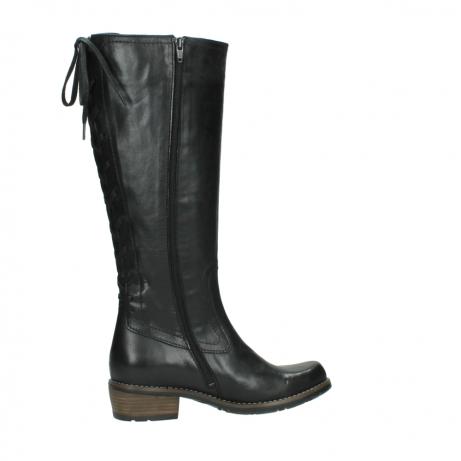 wolky lange laarzen 0552 pardo 300 zwart leer_12