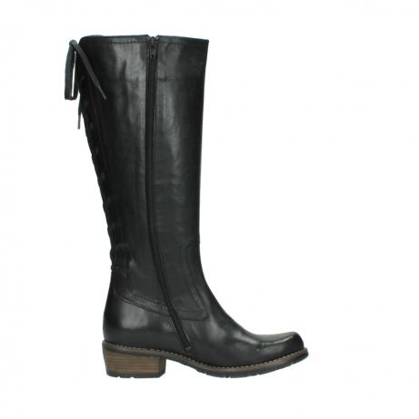 wolky lange laarzen 0552 pardo 300 zwart leer_13