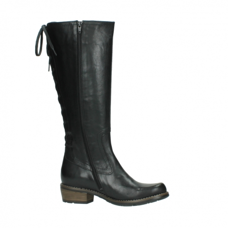 wolky lange laarzen 0552 pardo 300 zwart leer_14