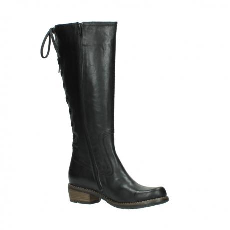 wolky lange laarzen 0552 pardo 300 zwart leer_15