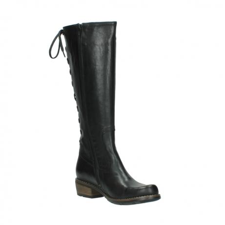 wolky lange laarzen 0552 pardo 300 zwart leer_16