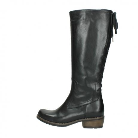wolky lange laarzen 0552 pardo 300 zwart leer_2