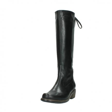wolky lange laarzen 0552 pardo 300 zwart leer_21