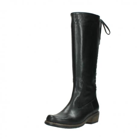 wolky lange laarzen 0552 pardo 300 zwart leer_22