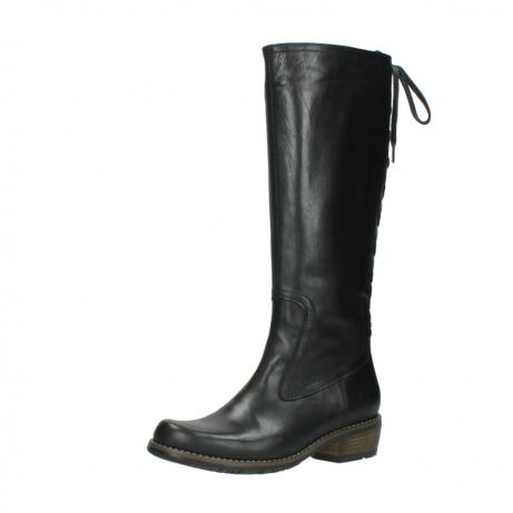 wolky lange laarzen 0552 pardo 300 zwart leer_23
