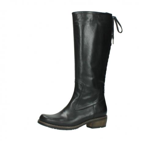 wolky lange laarzen 0552 pardo 300 zwart leer_24