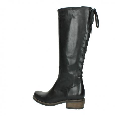 wolky lange laarzen 0552 pardo 300 zwart leer_3
