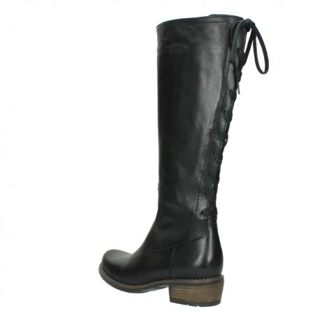 wolky lange laarzen 0552 pardo 300 zwart leer_4