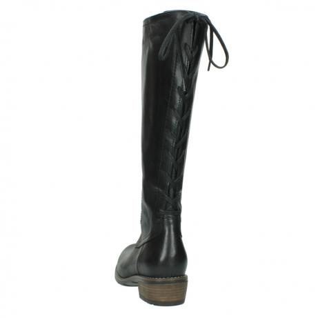 wolky lange laarzen 0552 pardo 300 zwart leer_6