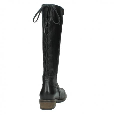 wolky lange laarzen 0552 pardo 300 zwart leer_8