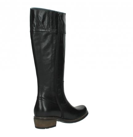 wolky lange laarzen 0553 tinto 300 zwart leer_10