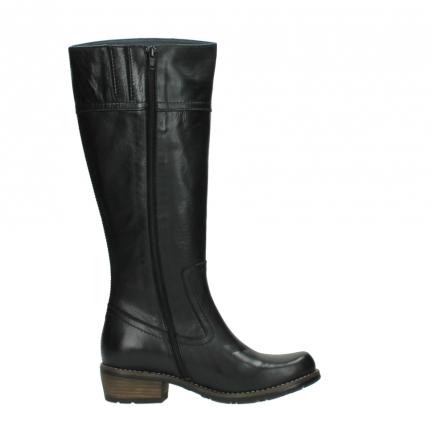 wolky lange laarzen 0553 tinto 300 zwart leer_13
