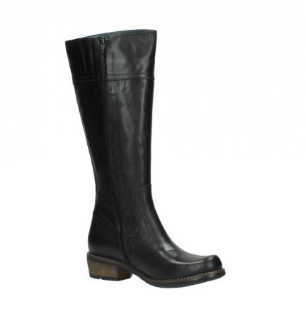 wolky lange laarzen 0553 tinto 300 zwart leer_15