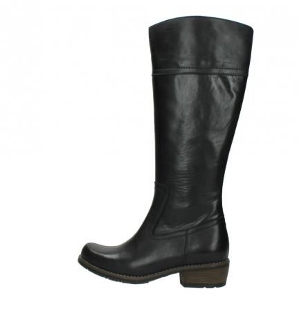 wolky lange laarzen 0553 tinto 300 zwart leer_2