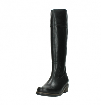 wolky lange laarzen 0553 tinto 300 zwart leer_21